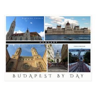 Cartão Postal Budapest em o dia