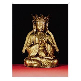 Cartão Postal Buddha assentado