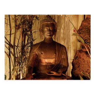 Cartão Postal BUDDHA: Estátua de cobre