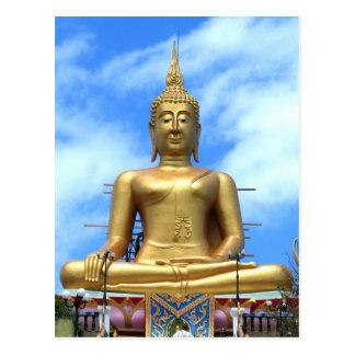 Cartão Postal Buddha grande