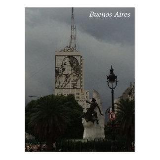 Cartão Postal Buenos Aires - Torre de los Ingleses