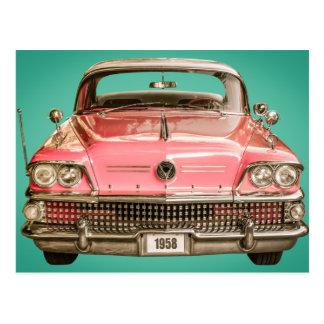 Cartão Postal Buick tClassic carro de 1958 séculos