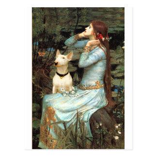 Cartão Postal Bull terrier 1 - Ophelia 2