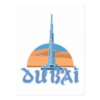 Cartão Postal Burj Khalifa Dubai