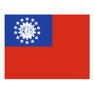 Cartão Postal Burma