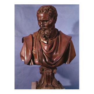 Cartão Postal Busto de Michelangelo Buonarroti