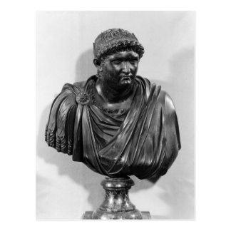 Cartão Postal Busto de Nero, cópia de um original