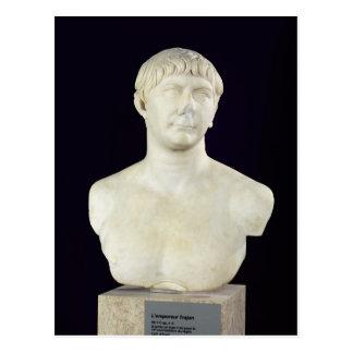 Cartão Postal Busto de Trajan c.108