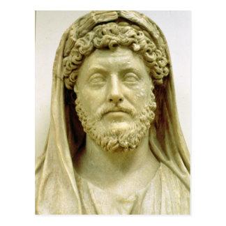 Cartão Postal Busto do retrato de Marcus Aurelius