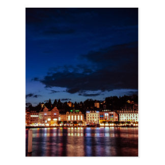 Cartão Postal By Lucerne night
