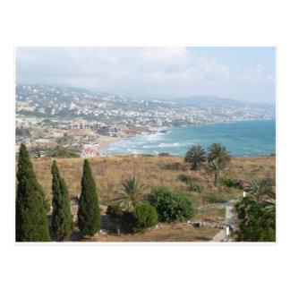 Cartão Postal Byblos Líbano