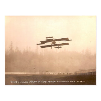 Cartão Postal C.K. O vôo de Hamilton