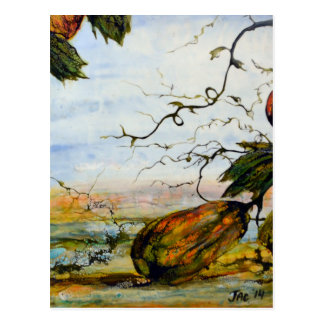 Cartão Postal Cabaças, arte original por JAC