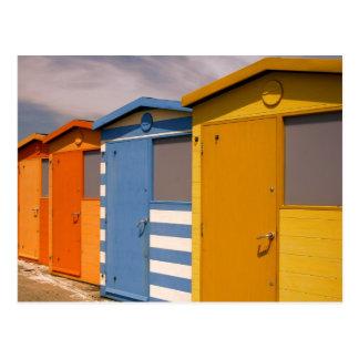 Cartão Postal Cabanas da praia
