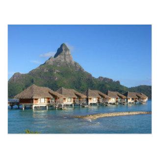Cartão Postal Cabanas de Bora Bora