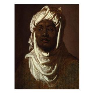 Cartão Postal Cabeça de um homem africano que veste um turbante
