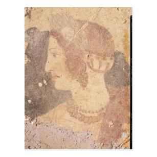 0b0f16a5a01 Cartão Postal Cabeça de uma jovem mulher