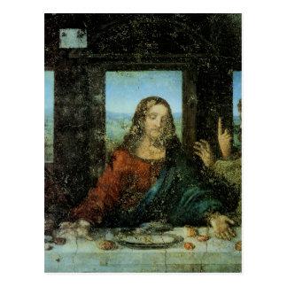 Cartão Postal Cabeça do cristo da última ceia