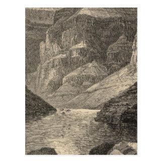 Cartão Postal Cabeça do Grand Canyon