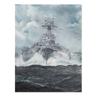Cartão Postal Cabeças da capa para Bismarck 23rdMay 1941. 2014