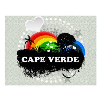 Cartão Postal Cabo Verde frutado bonito
