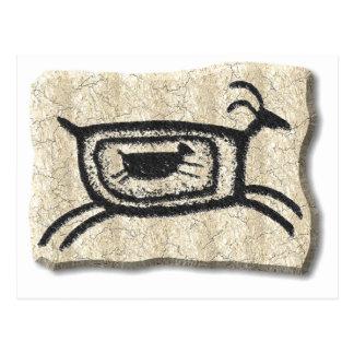 Cartão Postal Cabra-pedra da mãe