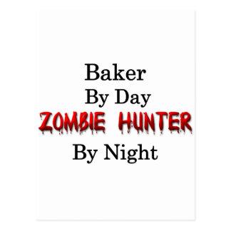 Cartão Postal Caçador do padeiro/zombi