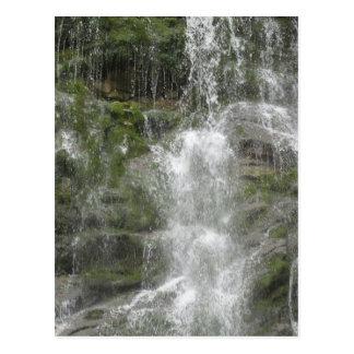 Cartão Postal Cachoeira da rampa do La no parque nacional de