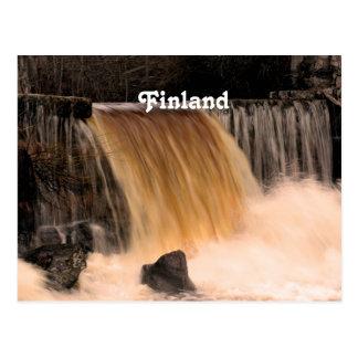 Cartão Postal Cachoeira de Finlandia
