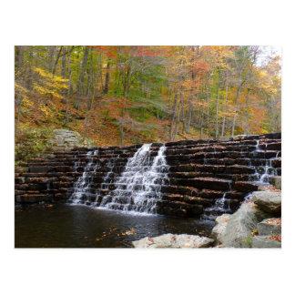 Cartão Postal Cachoeira no parque estadual do monte do louro mim