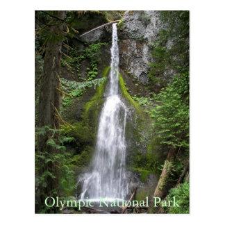 Cartão Postal Cachoeira olímpica do parque nacional