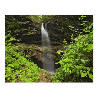 Cartão Postal Cachoeira que cai no dissipador, dissipador de