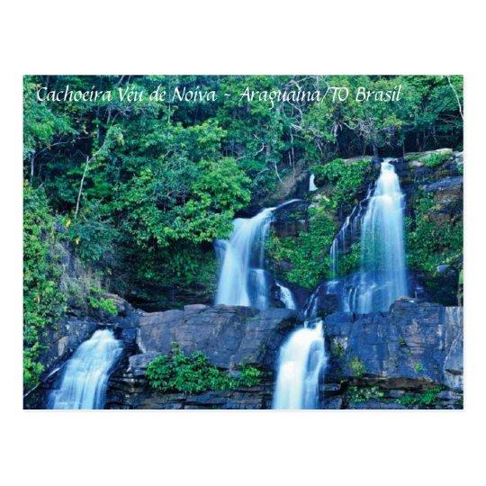 Cartão Postal Cachoeira Véu de Noiva