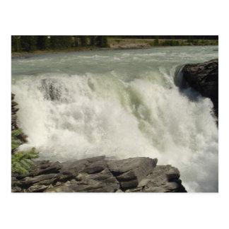 Cartão Postal Cachoeiras de Athabasca em Alberta