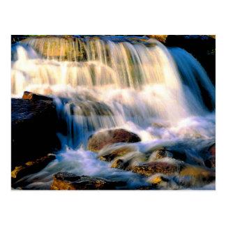 Cartão Postal Cachoeiras do parque nacional de geleira