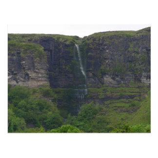 Cartão Postal Cachoeiras no Lough de Glecar