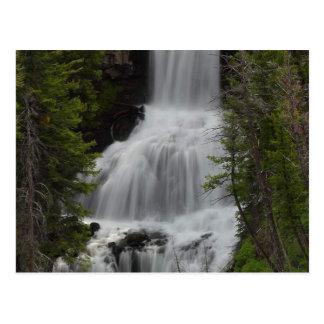 Cartão Postal Cachoeiras Yellowstone do Undine