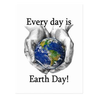 Cartão Postal Cada dia é Dia da Terra