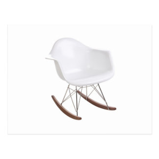 Cartão Postal Cadeira de balanço de Eames Shell Eiffel de