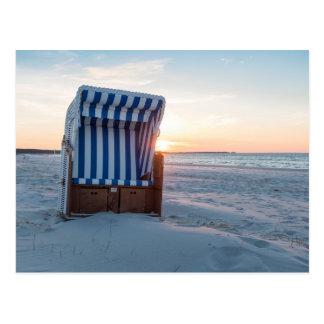 Cartão Postal Cadeira de praia