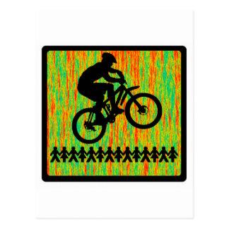 Cartão Postal Cadeira eléctrica da bicicleta