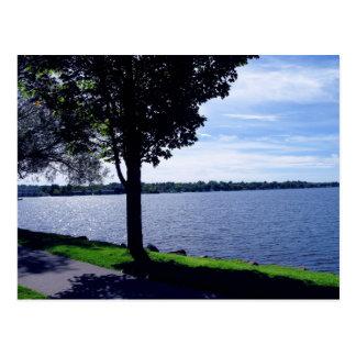 Cartão Postal Cadillac do lago, Michigan