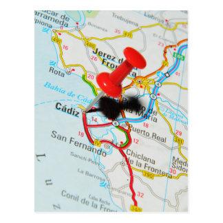 Cartão Postal Cadiz, espanha