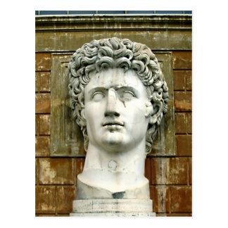 Cartão Postal Caesar Augustus