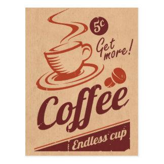 Cartão Postal Café