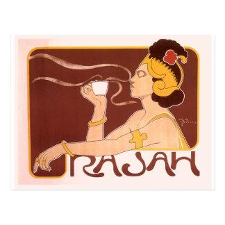 Cartão Postal Café de Rajah