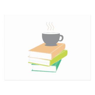 Cartão Postal Café & livros