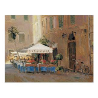 Cartão Postal Café Roma