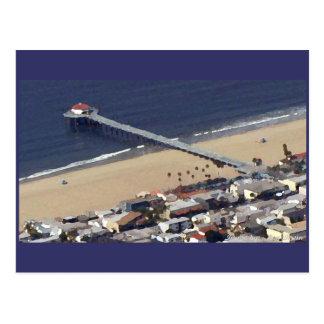 Cartão Postal Cais de Manhattan Beach
