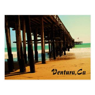 Cartão Postal Cais de Ventura Califórnia